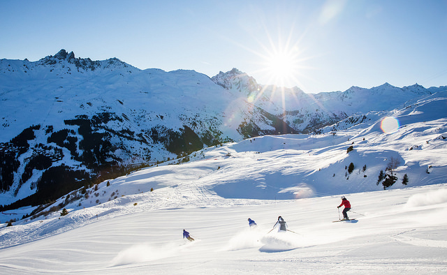 3 vallees skiing freedom