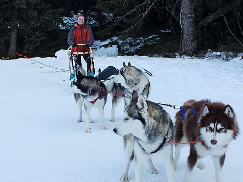 A la rencontre d'un Musher